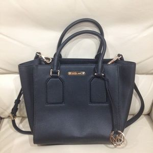 Michael Kors Black Satchel Purse Bag